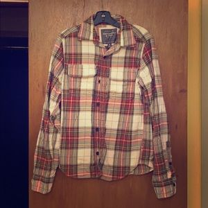 Men's early 2000 Abercrombie & Fitch Flannel Shirt